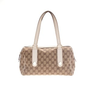 Beige Gucci Shoulder Bag