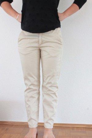 H&M Pantalone chino bianco sporco