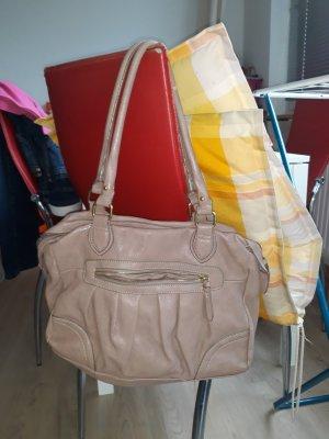 beige Handtasche