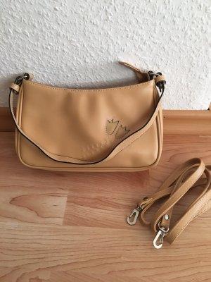 Beige Handtasche klein