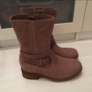 Beige/hellbraune Wildleder Ugg Boots NEU!
