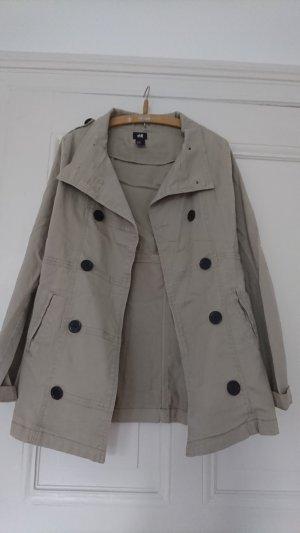 Beige Herbst Jacke im Trenchcoatstyle