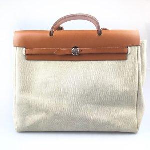 Beige Hermes Shoulder Bag