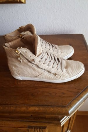 Beige High Top Sneaker in Gr.38 von Ash , wie neu!