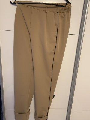 Bershka Pantalón estilo Harem beige