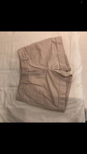 H&M High-Waist-Shorts oatmeal