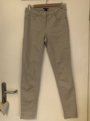 H&M Pantalón de tubo beige
