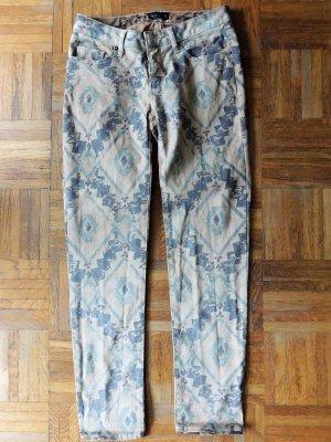 Beige Hose mit Muster von Laura Scott in Gr 36