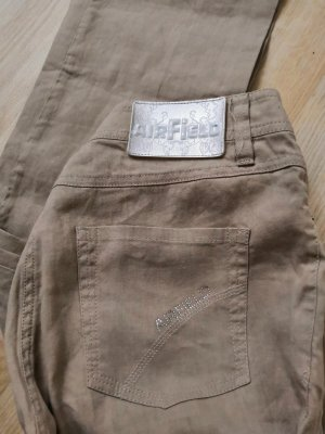 Airfield Linen Pants oatmeal-beige