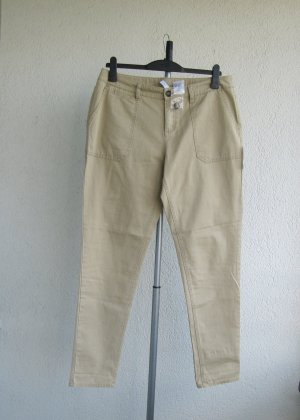 Rainbow Pantalon cinq poches beige coton