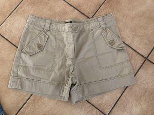Beige Hotpants / Shorts von H&M - Gr. 38
