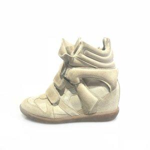 Beige Isabel Marant Sneaker