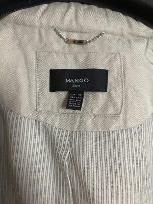 Beige Jacke von Mango