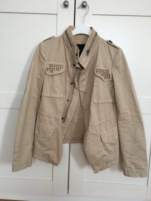 Beige Jacke von Zara