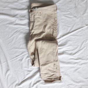 beige Jeans mit Aztekenmuster H&M 40