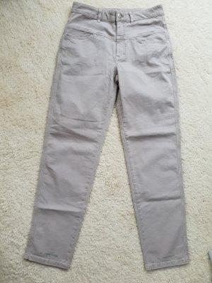 Beige Jeans, Pedal Pusher, Gr.38