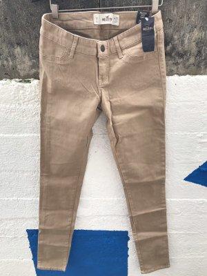 Beige Jeans von Hollister & Co, Größe 25/31 1R, Hose, Skinny Jeans