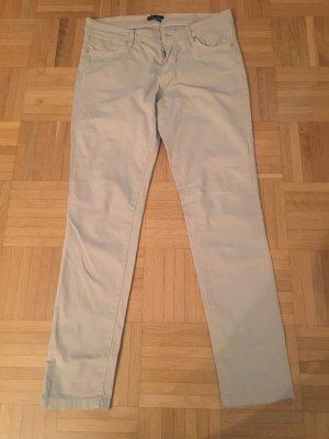 Beige Jeanshose von Massimo Dutti, Größe 40, Skinny