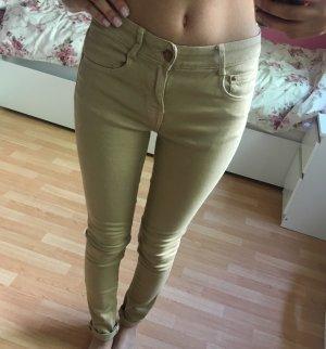 Beige Jeanshose von Zara