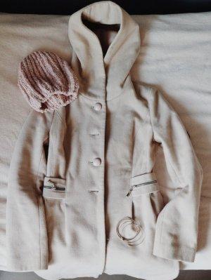 Manteau à capuche multicolore synthétique