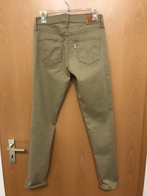 Beige Levi's Jeans