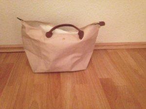 beige Longchamp Tasche