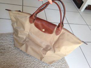 Beige Longchamp Tasche Size M