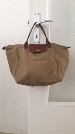 Beige Longchamptasche - Größe M