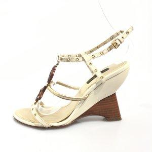 Beige Louis Vuitton High Heel