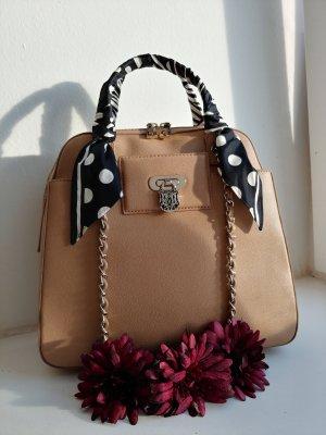 Beige Love Moschino spring/summer bag