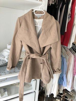 Beige Mantel neuwertig von h&m