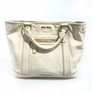 Beige Miu Miu Shoulder Bag