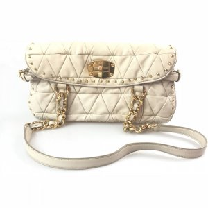 Beige Miu Miu Shoulder Bag