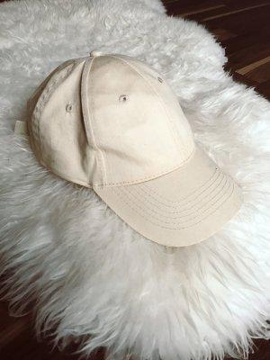 Beige Mütze