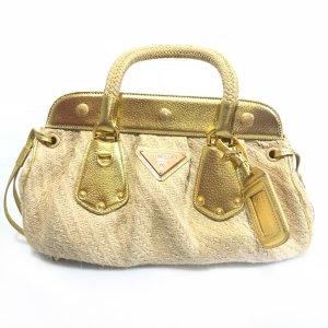 Beige Prada Shoulder Bag