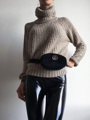 Amisu Maglione di lana multicolore