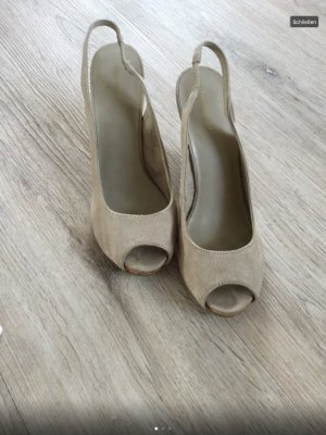Beige Pumps