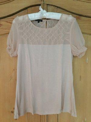 Beige-Rosa Shirt von Massimo Dutti