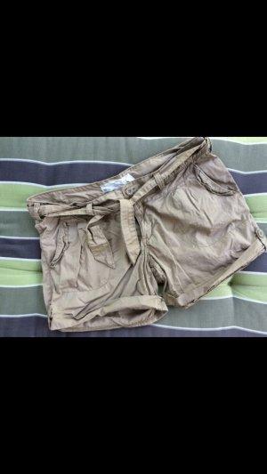 Beige Safari Hotpants