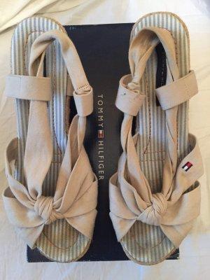 Beige Sandalen von Hilfiger