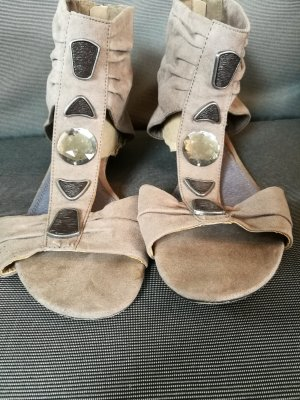 Beige Sandalen von Marco Tozzi