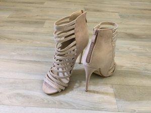 Jumex High Heel Sandal beige