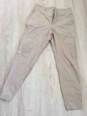 beige schicke Hose von Zara