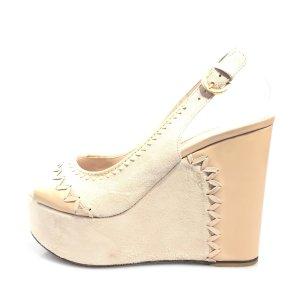 Sergio Rossi High-Heeled Sandals beige