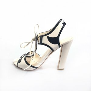 Sergio Rossi High-Heeled Sandals beige
