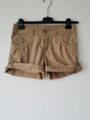 beige Shorts / kurze Hose