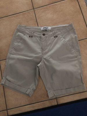 Beige Shorts von Only - Gr. 36