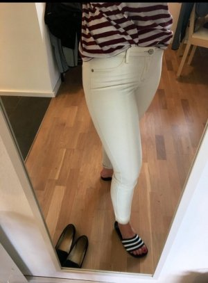 Abercrombie & Fitch Jersey Pants cream-oatmeal