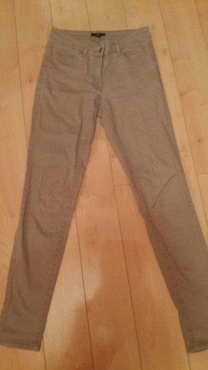 Beige skinny Jeans von H&M