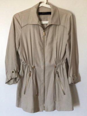 Beige Sommerjacke, Zara Collection, XS, 34, mit Reißverschluss, komplett neu / nie getragen